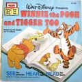 Winnie the Pooh and Tigger Too Disney Read Along 1st Cassette