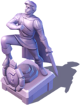 D-prince erics statue