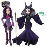 Descendants - Maleficent and Mal dolls