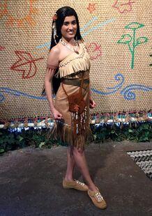 Disney Park Pocahontas