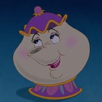 Sugar Tin Beauty /& The Beast Mrs Potts