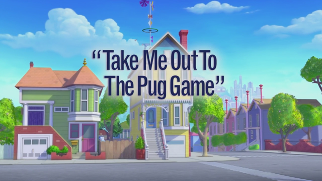 Take Me Out to the Pug Game