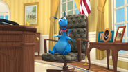 Stuffy on president's chair