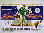 The Happiest Millionaire Poster