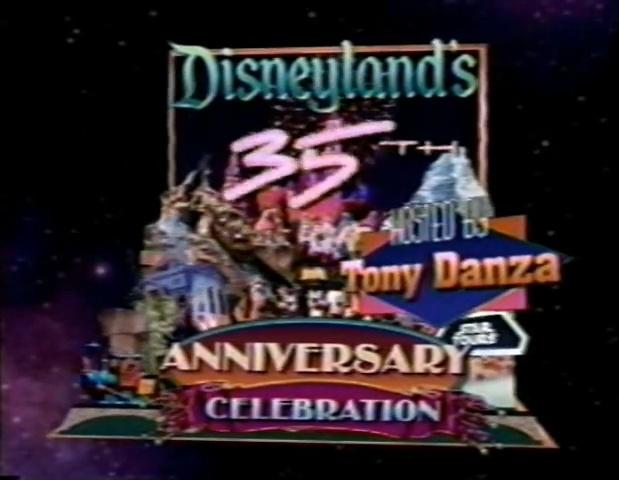 Disneyland's 35th Anniversary Celebration