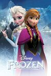 FROZEN-MOVIE-POSTER-SISTERS-24x36-Disney-Snow-Queen-Princess-Elsa-Anna-3