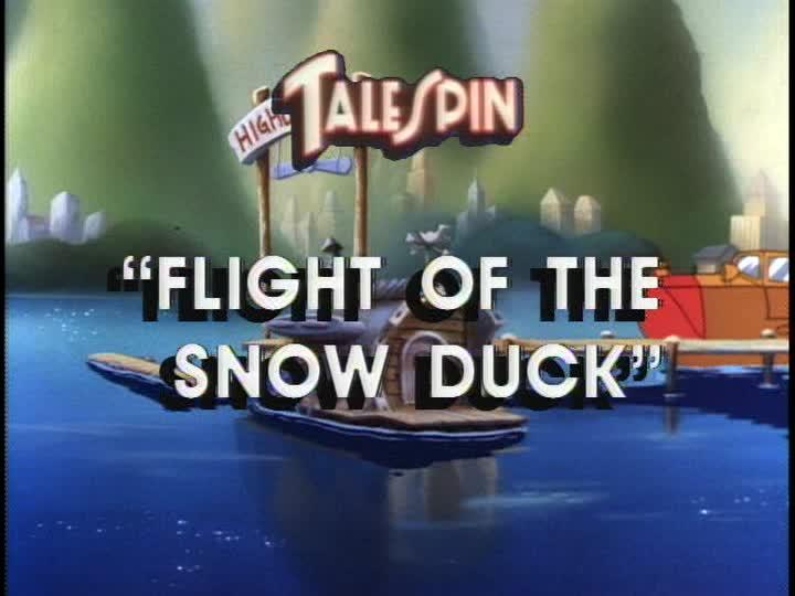Flight of the Snow Duck