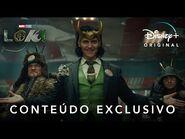 Loki - Marvel Studios - Conteúdo Exclusivo Legendado I Disney+