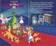 Walt Disney Masterpiece Collection - Promotional Print Advertisment - 2
