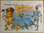Bedknobs and broomsticks 1979 uk reissue quad