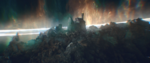 Sylvie's vision of the Citadel - Loki EP5