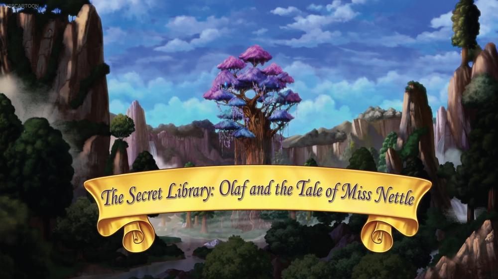 A Biblioteca Secreta: Olaf e o Conto da Fada Urtiga