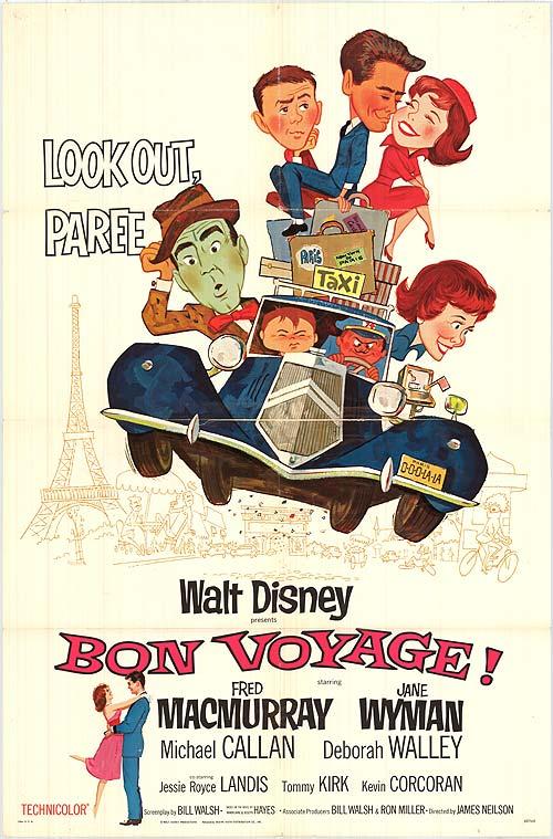 Bon Voyage, Enfim Paris!