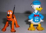 Donald pluto figurines