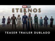 Eternos - Marvel Studios - Teaser Trailer Dublado