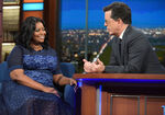 Octavia Spencer visits Stephen Colbert