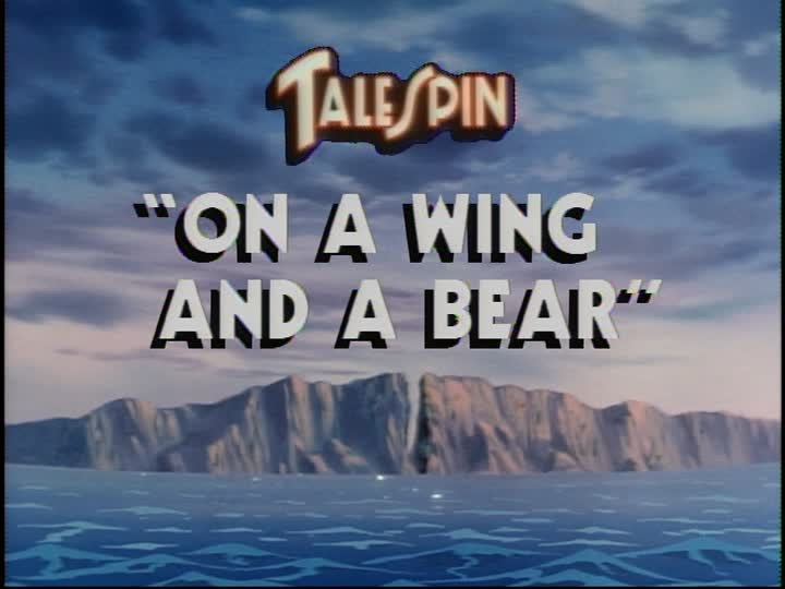 On a Wing and a Bear