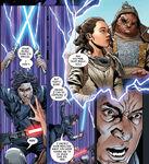 Rey and Ben - Rise of Kylo Ren comic