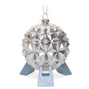 Spaceship Earth Christmas ornament