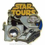 Star Tours Pin