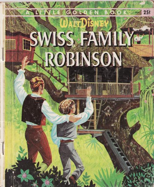 Swiss Family Robinson (Little Golden Book)