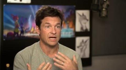 """Zootopia Zootropolis """"Nick Wilde"""" Behind The Scenes Interview - Jason Bateman"""