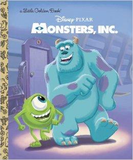 Monsters, Inc. (Little Golden Book)