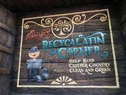 Sammy Recycling Sign