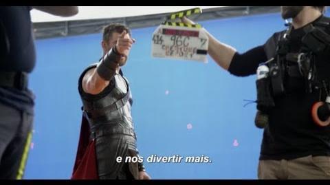 Thor Ragnarok - Nos Bastidores