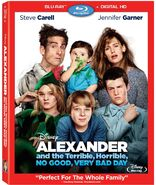 Alexander and the Terrible, No Good-Blu-ray