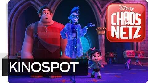 CHAOS IM NETZ - Kinospot Jede Menge Chaos Disney HD
