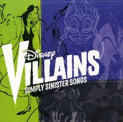 Disney Villains Simply Sinister Songs Cover.JPG