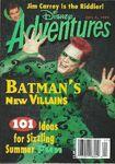 Disney adventures magazine cover july 1 1995 jim carrey riddler