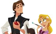 Eugene and Rapunzel promo