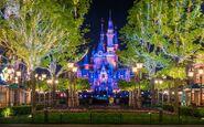 Mickey-avenue-popcorn-trees-enchanted-storybook-castle-compressed-shanghai-disneyland 1