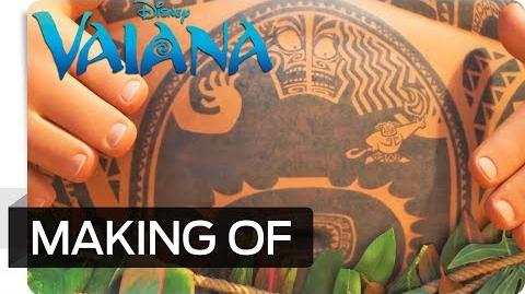 Making of VAIANA - Die Animation von Mini Maui Disney HD