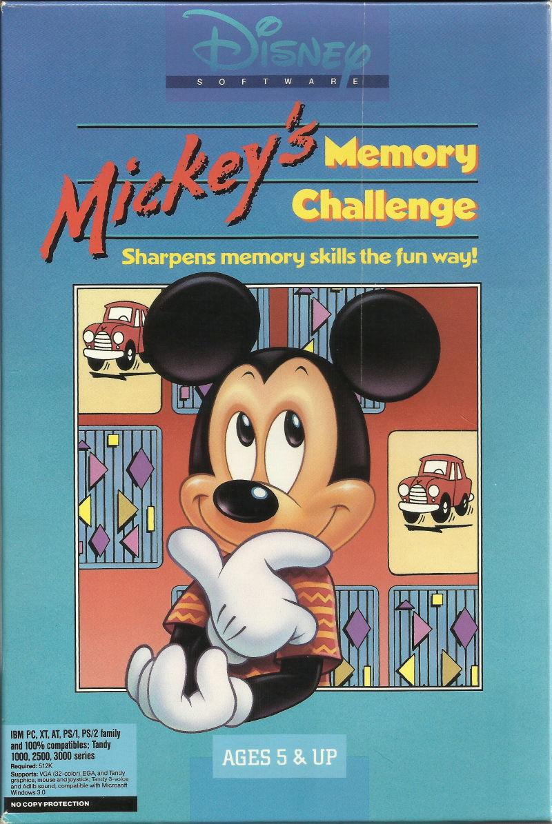 Mickey Jeu de Memorie