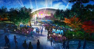 Play Pavilion Exterior Concept