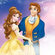 Disney Princess - Belle and Prince