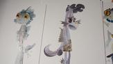 Luca and Alberto monster designs