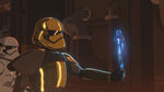 S1 E6 Pyre, Phasma & stormtrooper