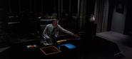Edward Dillinger at his Desk