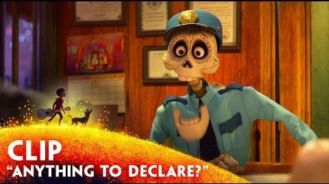 """""""Anything to Declare?"""" Clip - Disney Pixar's Coco - November 22 in 3D"""