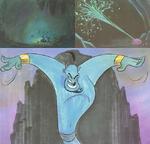Aladdin storyboards