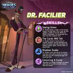Dr. Facilier DHBM Promo