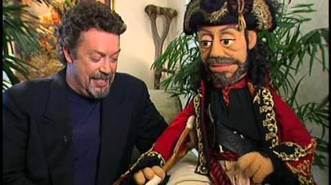 Muppet Treasure Island Commentary Hidden Treasure Video Tim and Him