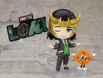 Nendoroid President Loki with Miss Minutes