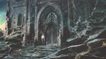 Sylvie and Loki arrive at the Citadel Concept Art