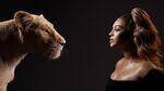 The Lion King (2019) - Beyoncé Knowles-Carter with Nala
