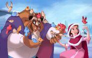 Disney Princess Belle's Story Illustraition 8